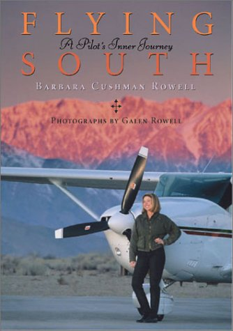 "Cover of Barbara Rowell's 2002 book ""Flying South: A Pilot's Inner Journey."""