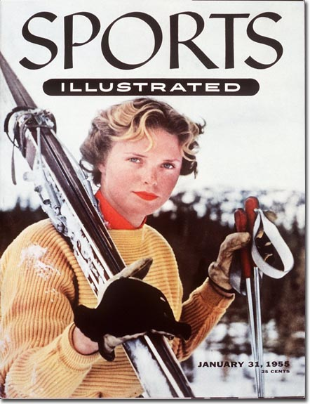 Jill Kinmont made the cover of this January 1955 Sports Illustrated.