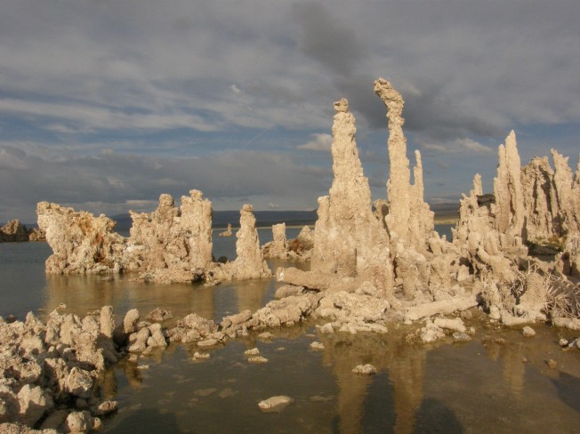 Eerie and fascinating tufa towers. Photo by Carol Underhill.