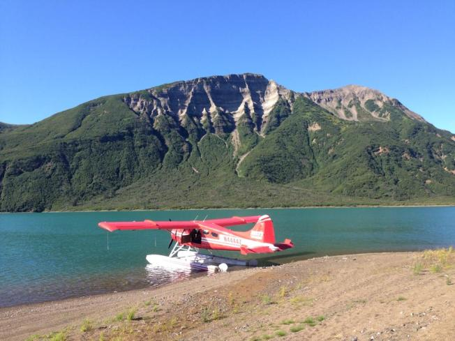 No wheels, no problem! Alaska's myriad waterways and lakes make for endless runways and possibilities. Photo by the author.
