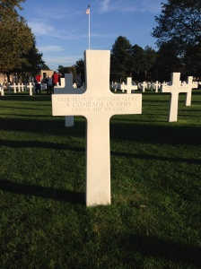 American Cemetery of Colleville-sur-Mer. Photo by Author.