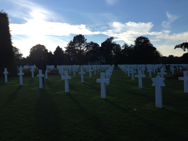 Normandy American Cemetery, Coleville-sur-Mer. Photo by Author.